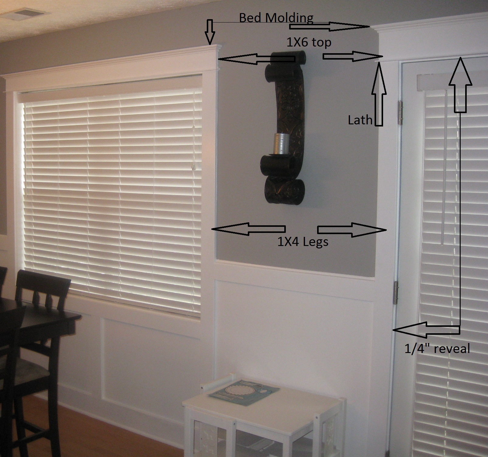 My Door And Window Trim How To On The Cheap Renovations